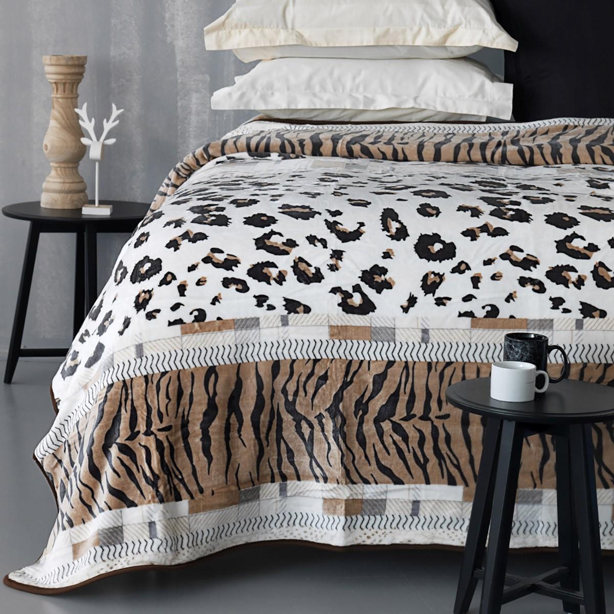 Κουβέρτα Fleece Μονή Palamaiki Silky 250