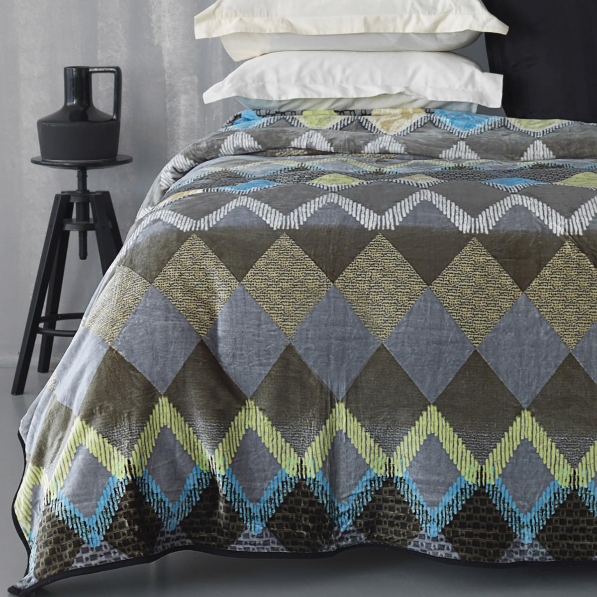 Κουβέρτα Fleece Υπέρδιπλη Palamaiki Silky 246