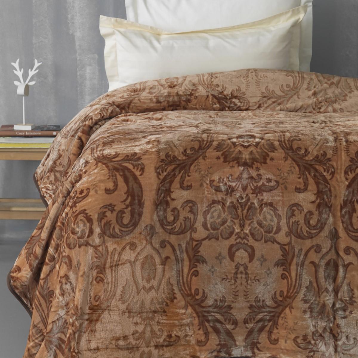 Κουβέρτα Fleece Υπέρδιπλη Palamaiki Silky 245