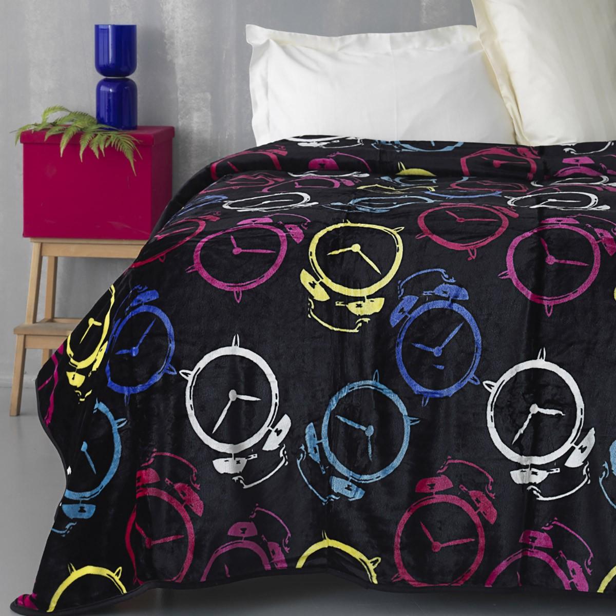 Κουβέρτα Fleece Υπέρδιπλη Palamaiki Silky 248