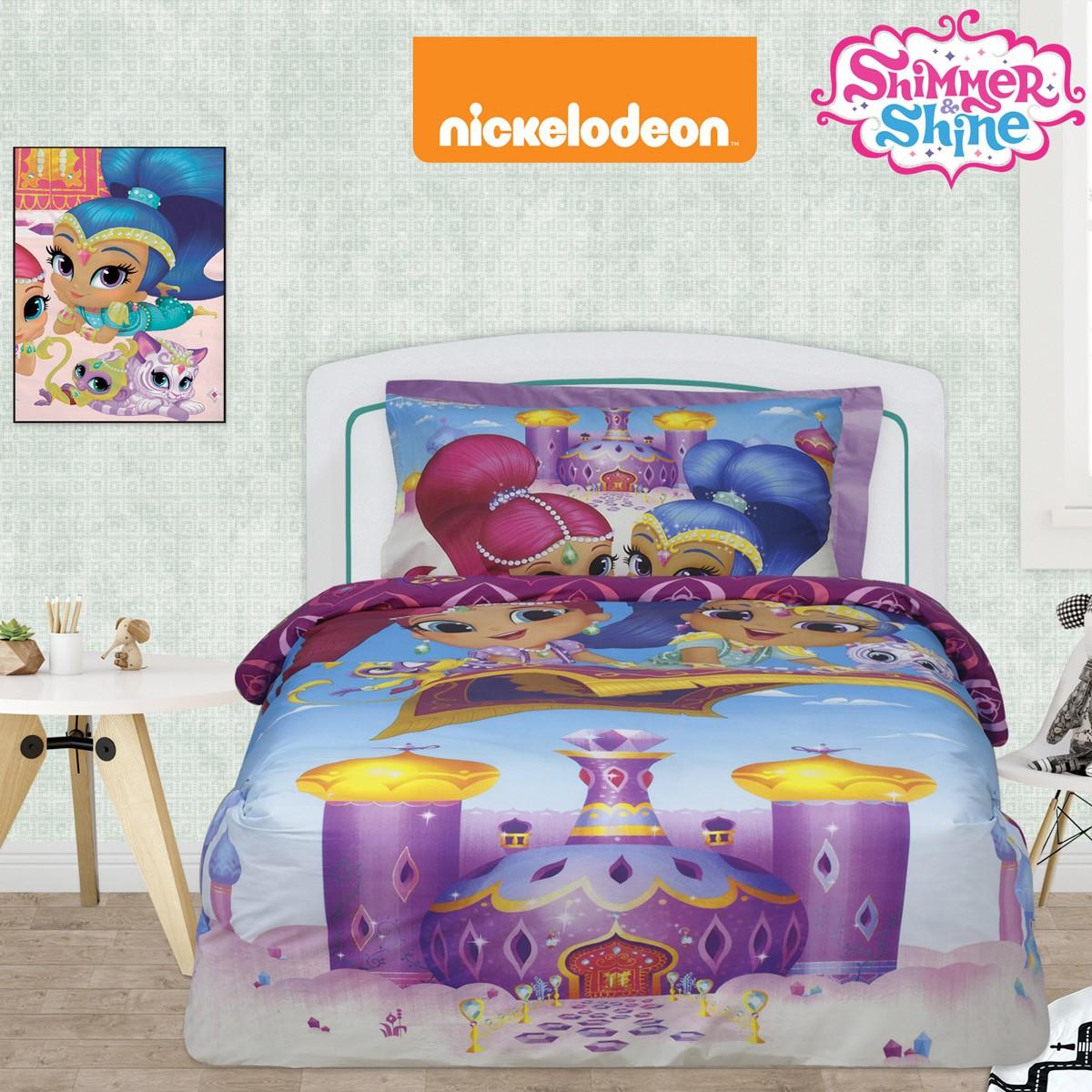 Σεντόνια Μονά (Σετ) Das Home Shimmer & Shine 5002 home   παιδικά   σεντόνια παιδικά