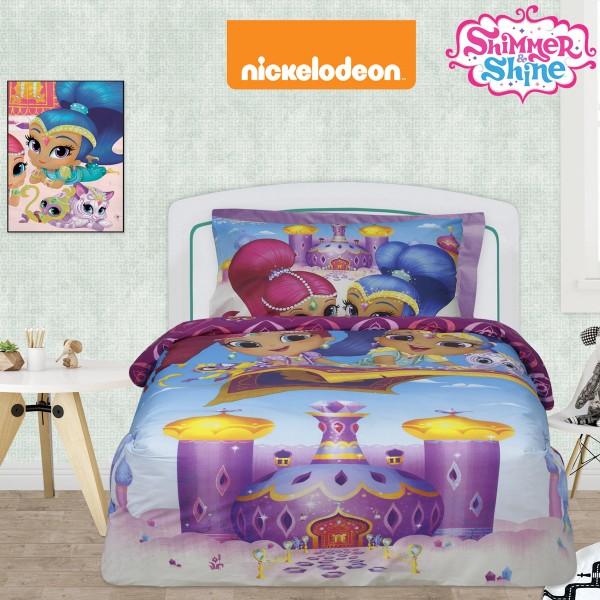 Παπλωματοθήκη Μονή (Σετ) Das Home Shimmer & Shine 5002
