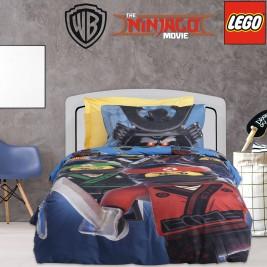 Παπλωματοθήκη Μονή (Σετ) Das Home Lego Ninjago 5008