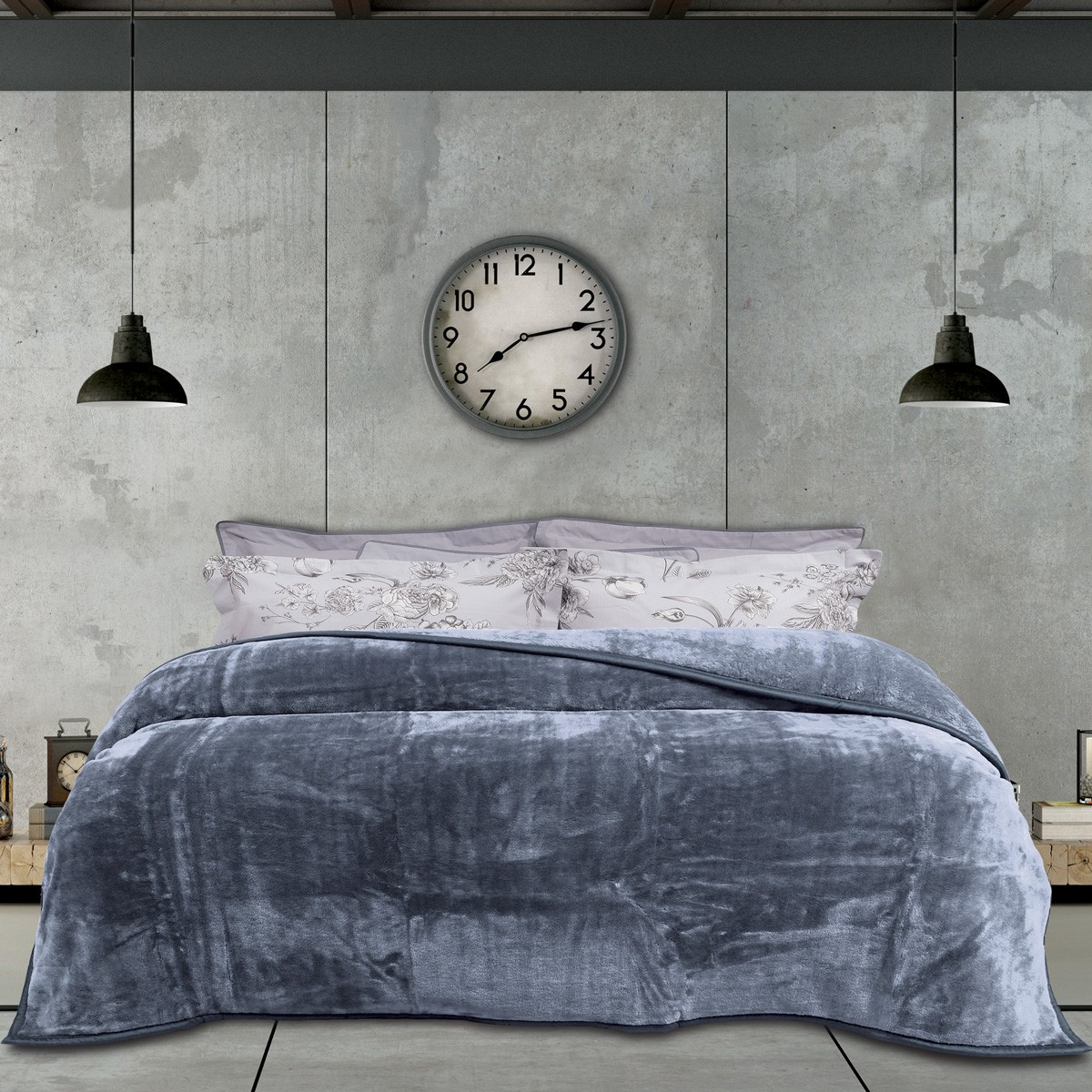 Κουβέρτα Βελουτέ Υπέρδιπλη Das Home Blanket Line Velour 394