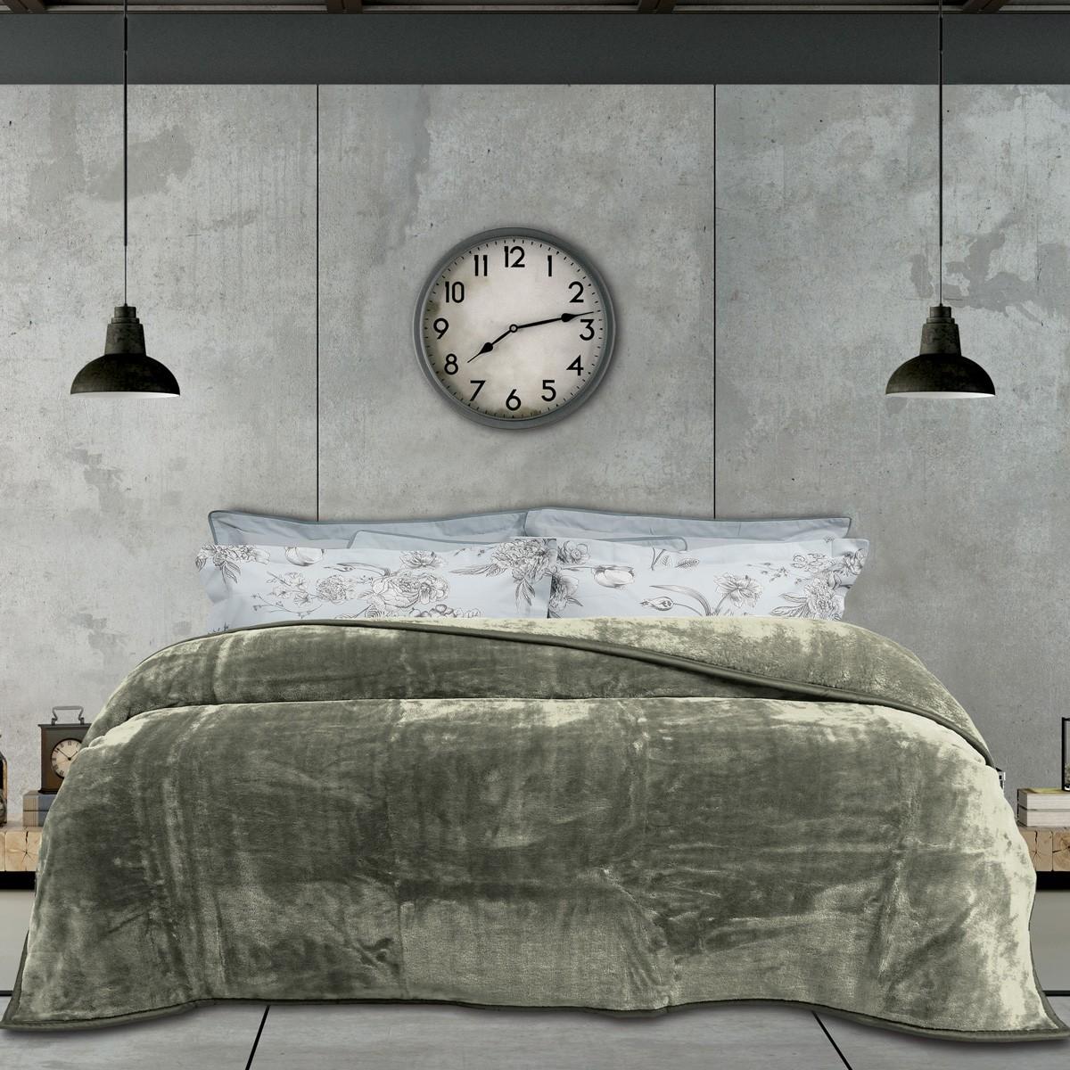 Κουβέρτα Βελουτέ Υπέρδιπλη Das Home Blanket Line Velour 395