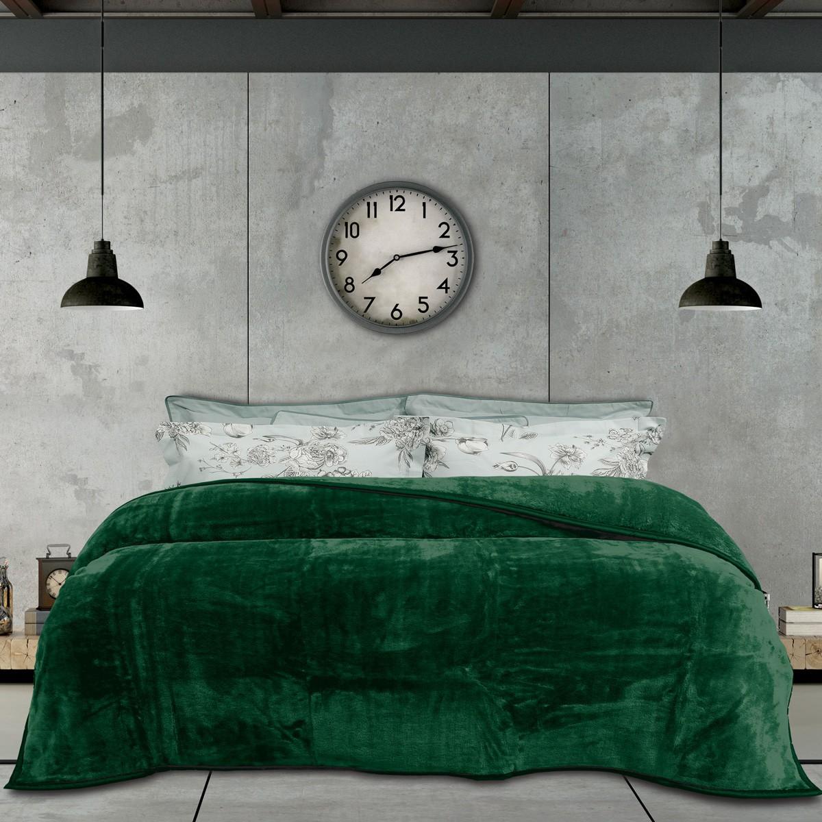 Κουβέρτα Βελουτέ Μονή Das Home Blanket Line Velour 396