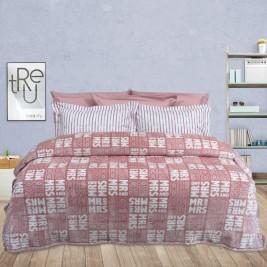 Κουβέρτα Fleece Υπέρδιπλη Das Home Blanket Line Prints 398