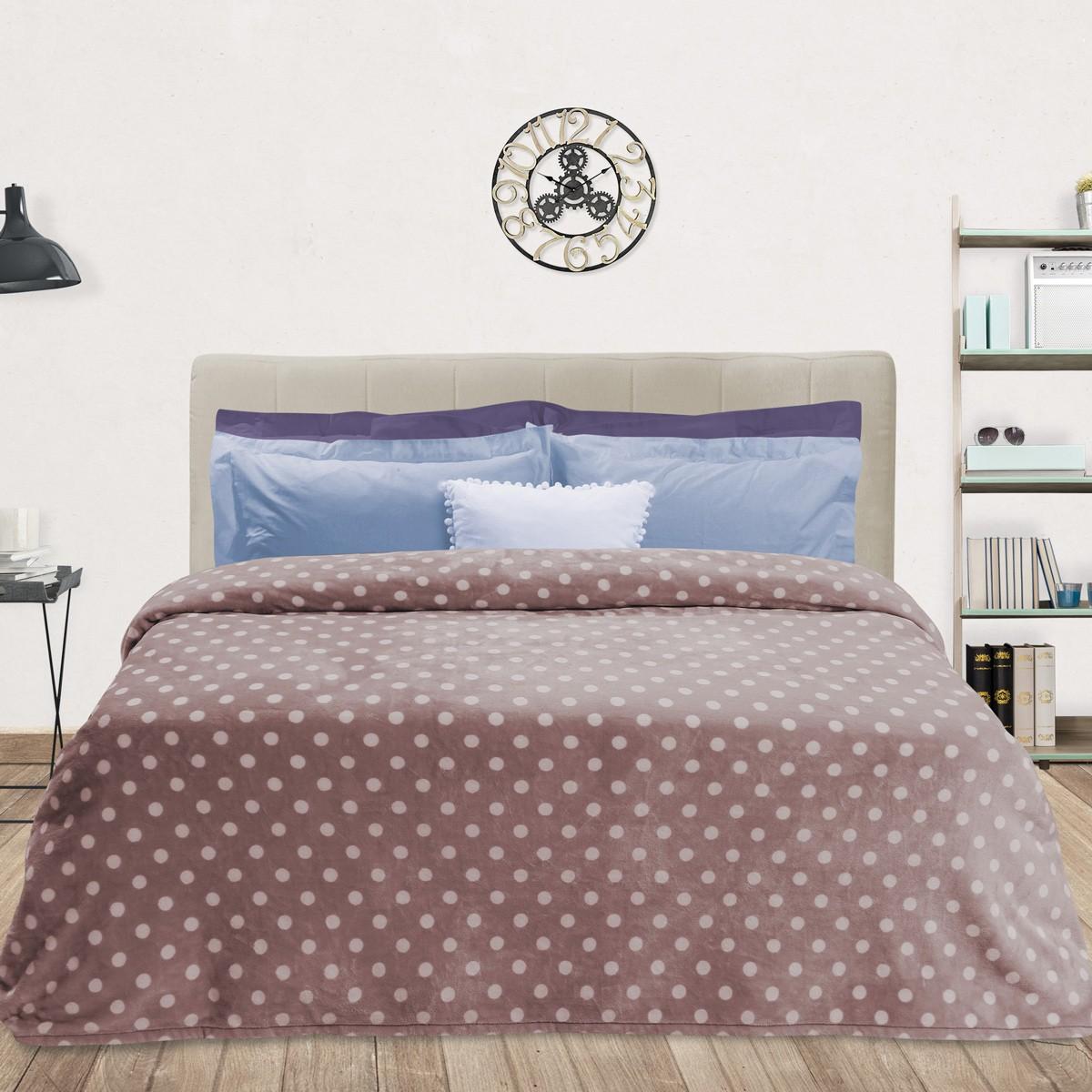 Κουβέρτα Fleece Υπέρδιπλη Das Home Blanket Line Prints 400 home   κρεβατοκάμαρα   κουβέρτες   κουβέρτες fleece υπέρδιπλες