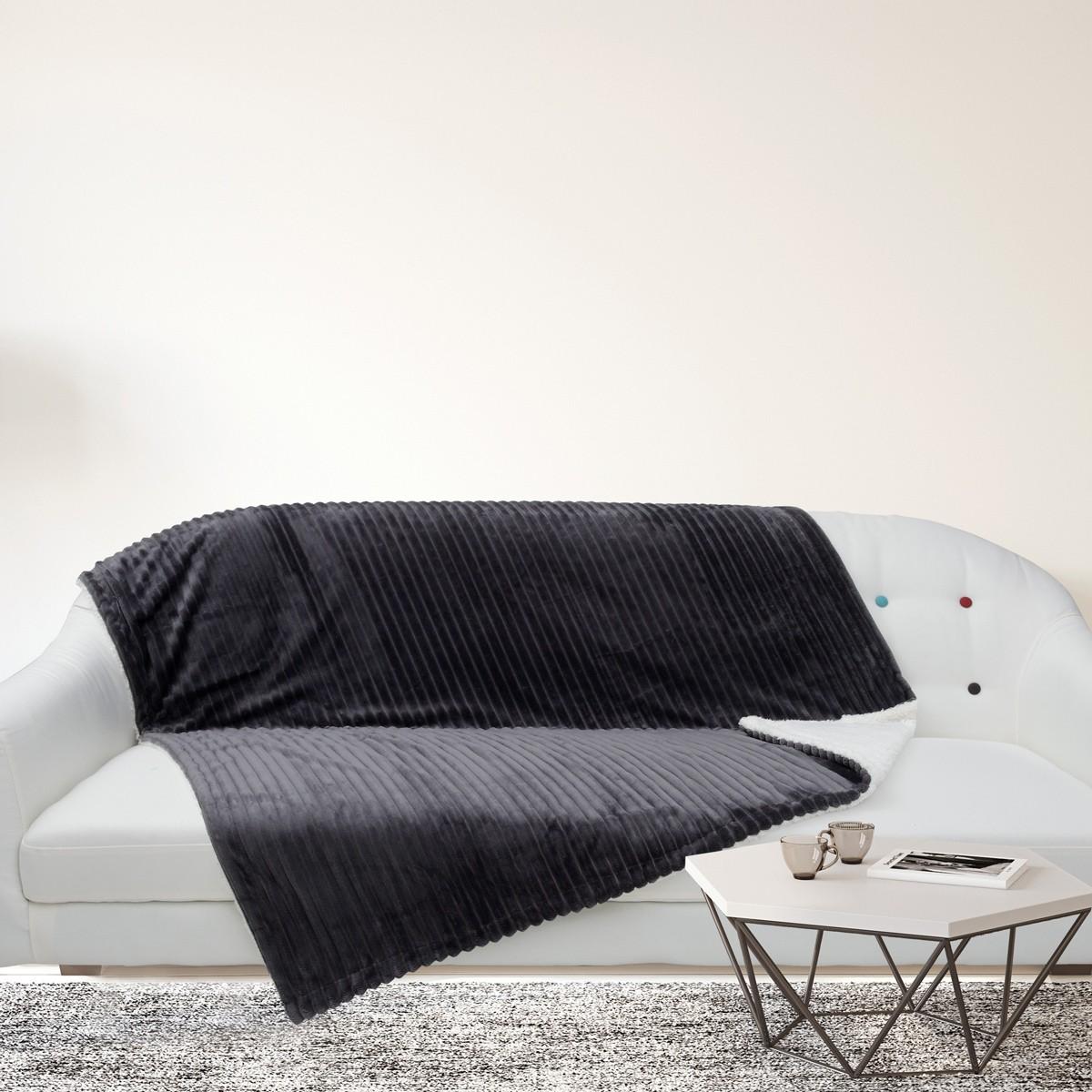 Κουβέρτα Καναπέ Das Home Blanket Line Fleece Sofa 402