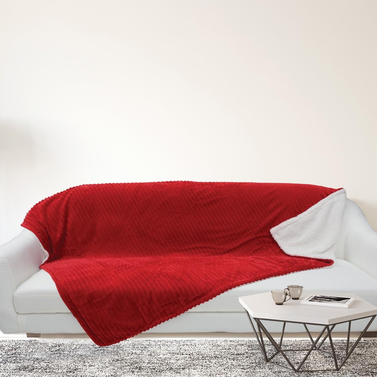 Κουβέρτα Καναπέ Das Home Blanket Line Fleece Sofa 403