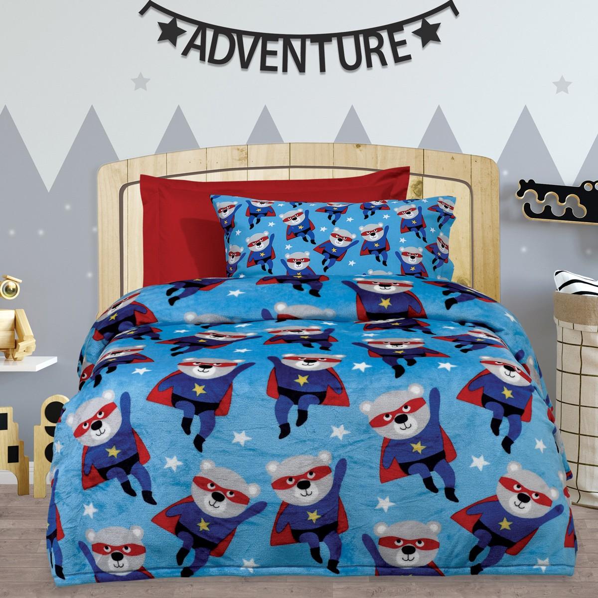 Κουβέρτα Fleece Μονή Das Home Kid Blanket 414