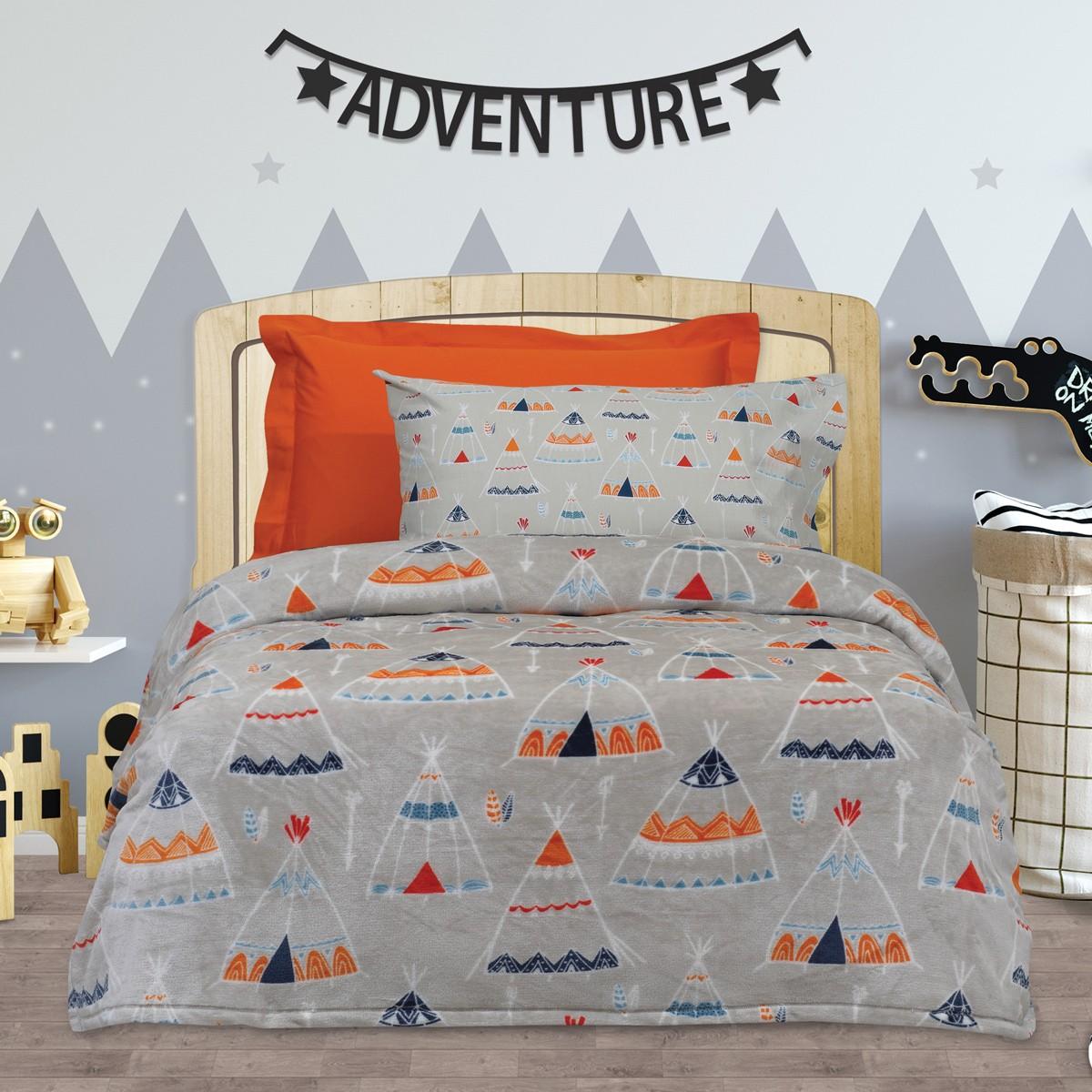 Κουβέρτα Fleece Μονή Das Home Kid Blanket 416