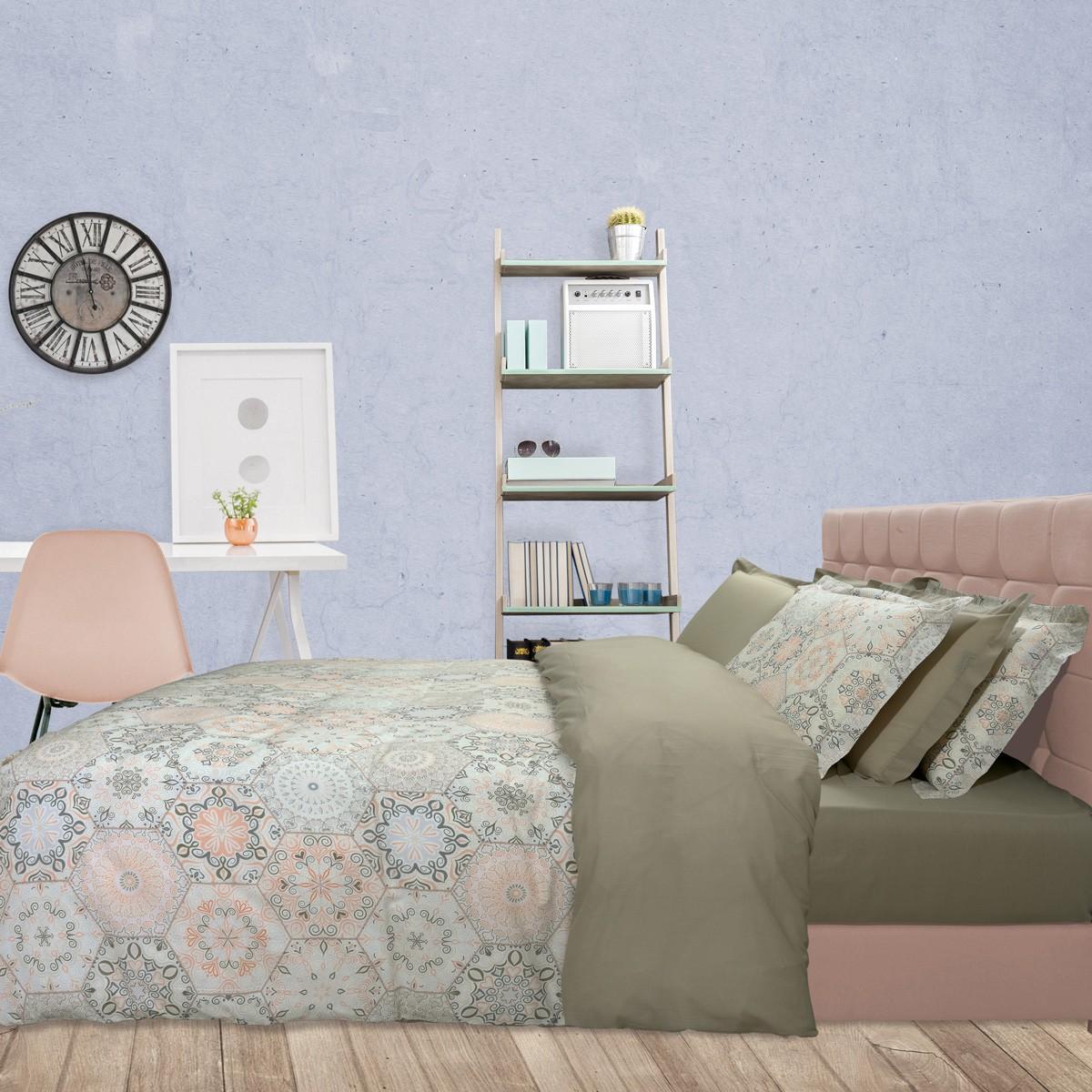 Σεντόνια Υπέρδιπλα (Σετ) Das Home Best Line Prints 4616