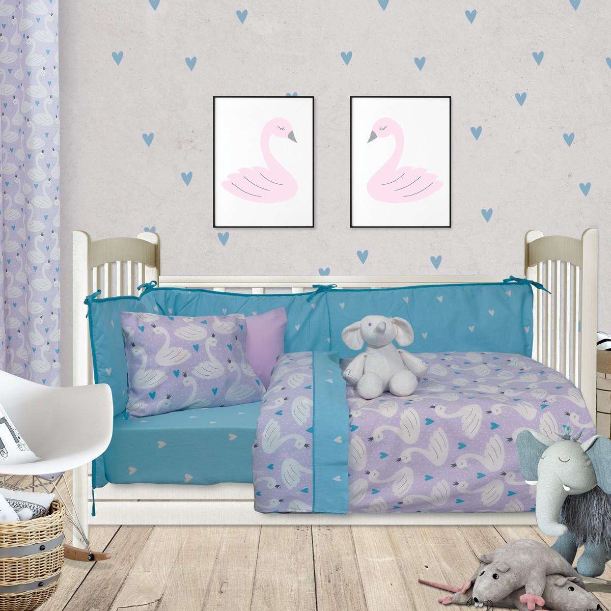 Πάπλωμα Κούνιας Das Home Fun Prints 6418