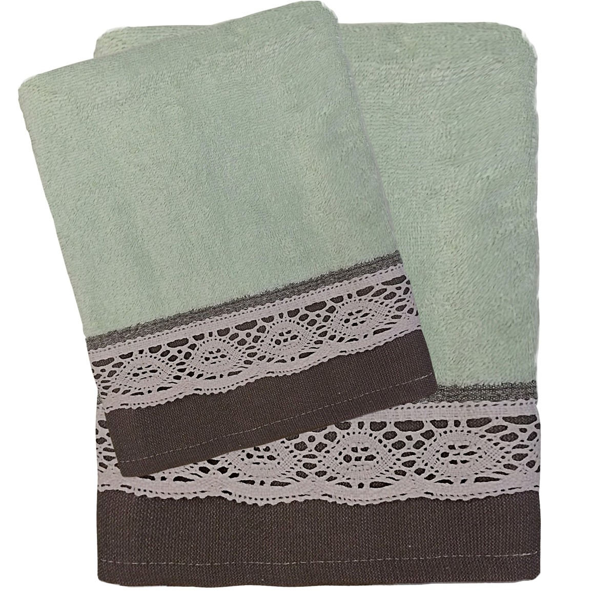 Πετσέτες Μπάνιου (Σετ 3τμχ) Das Home Happy Line 341