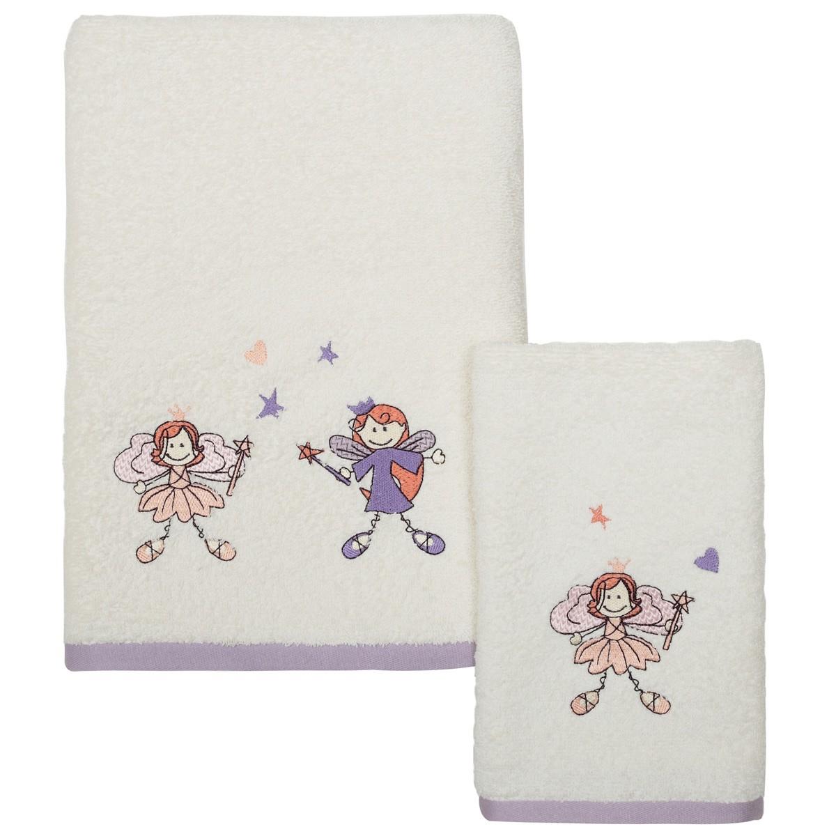 Βρεφικές Πετσέτες (Σετ 2τμχ) Das Home Fun Embroidery 6424