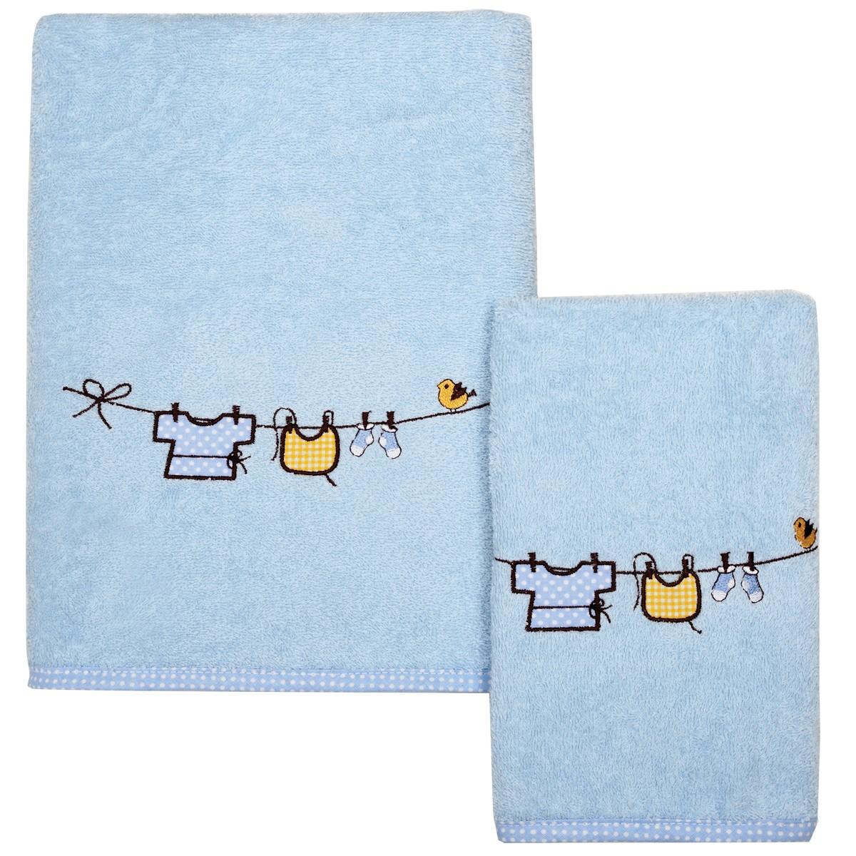 Βρεφικές Πετσέτες (Σετ 2τμχ) Das Home Smile Line 6431