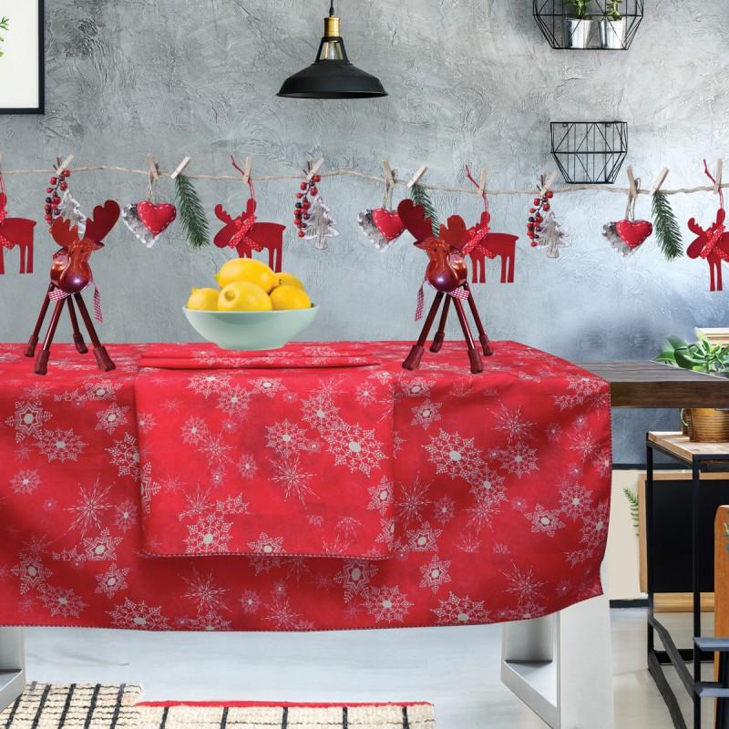 Χριστουγεννιάτικο Τραπεζομάντηλο (140x140) Das Home Kitchen 553
