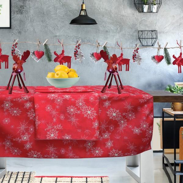 Χριστουγεννιάτικο Τραπεζομάντηλο (140x240) Das Home Kitchen 553