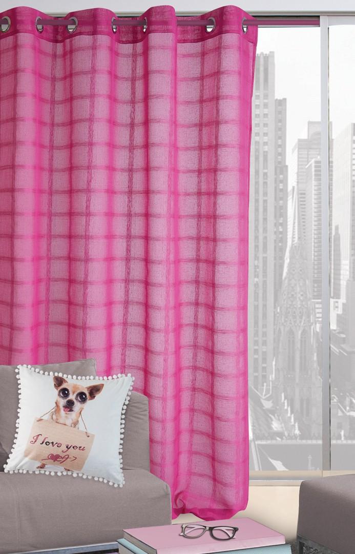 Κουρτίνα (140×280) Με Τρουκς Das Home 2019