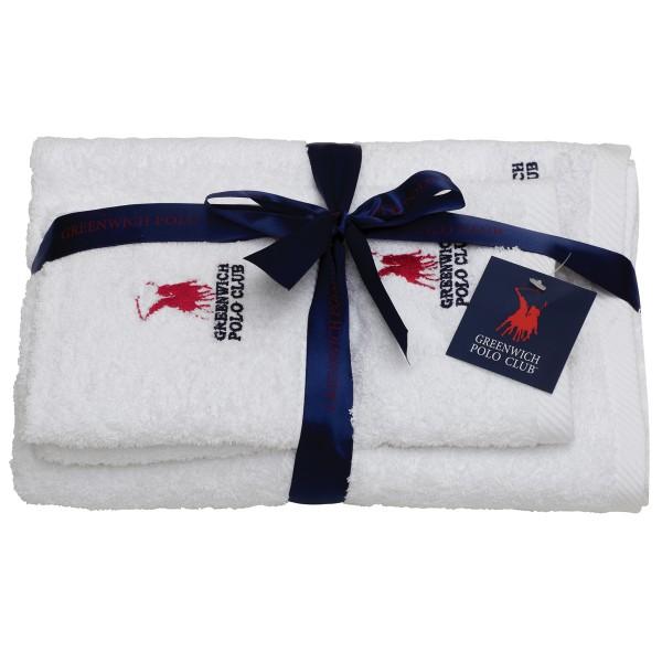 Πετσέτες Μπάνιου (Σετ 3τμχ) Polo Club Essential 2500
