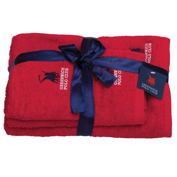 Πετσέτες Μπάνιου (Σετ 3τμχ) Polo Club Essential 2501