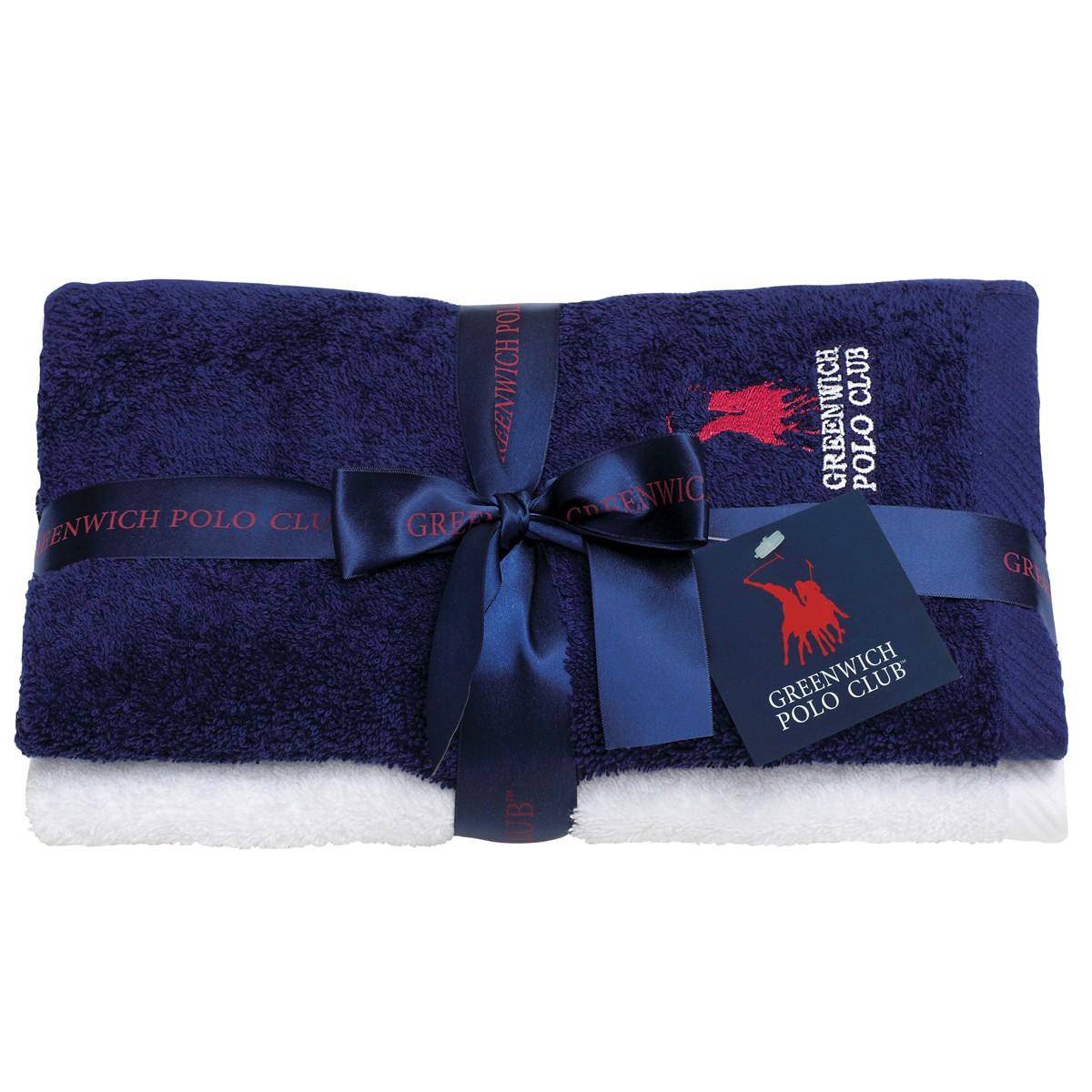 Πετσέτες Προσώπου (Σετ 2τμχ) Polo Club Essential 2507