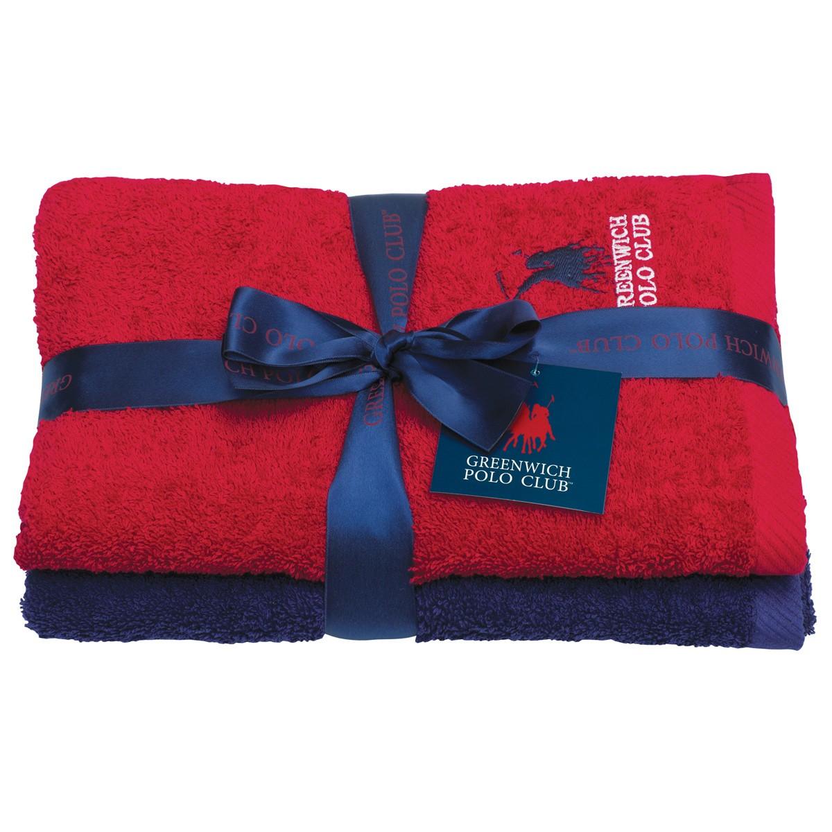 Πετσέτες Προσώπου (Σετ 2τμχ) Polo Club Essential 2508