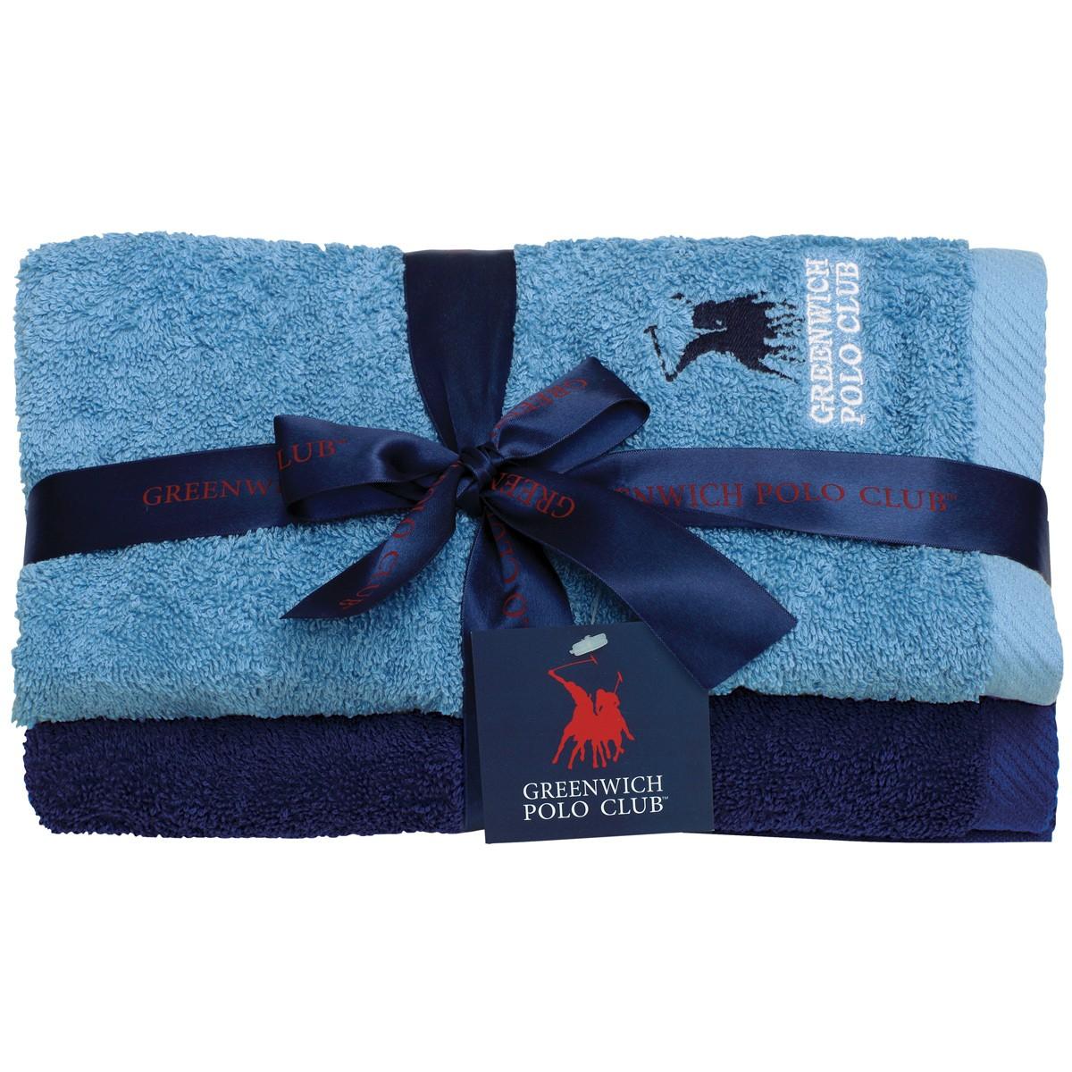 Πετσέτες Προσώπου (Σετ 2τμχ) Polo Club Essential 2509
