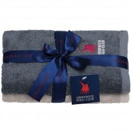 Πετσέτες Προσώπου (Σετ 2τμχ) Polo Club Essential 2510