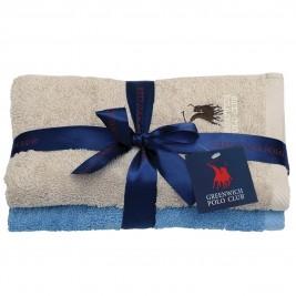 Πετσέτες Προσώπου (Σετ 2τμχ) Polo Club Essential 2511
