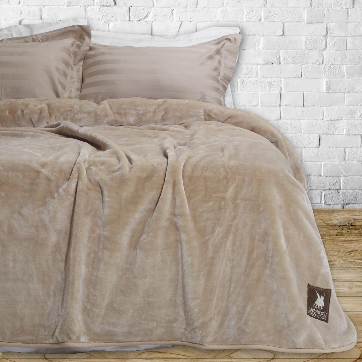 Κουβέρτα Βελουτέ Υπέρδιπλη Polo Club Essential Blanket 2402 home   κρεβατοκάμαρα   κουβέρτες   κουβέρτες βελουτέ υπέρδιπλες