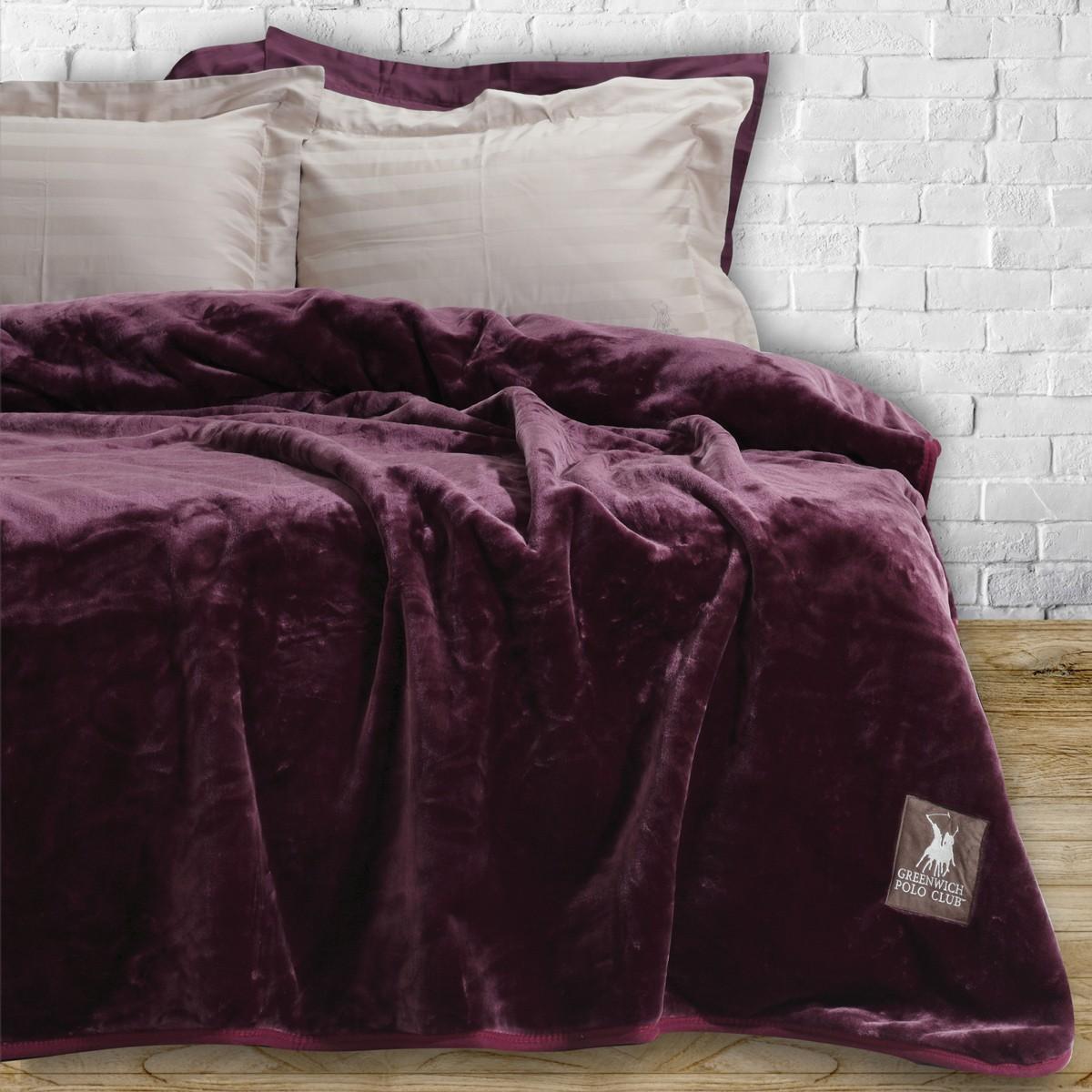 Κουβέρτα Βελουτέ Υπέρδιπλη Polo Club Essential Blanket 2403 78699