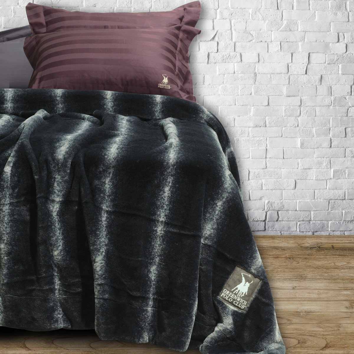 Κουβέρτα Γούνινη Υπέρδιπλη Polo Club Premium Faux Fur 2407 home   κρεβατοκάμαρα   κουβέρτες   κουβέρτες γούνινες   μάλλινες
