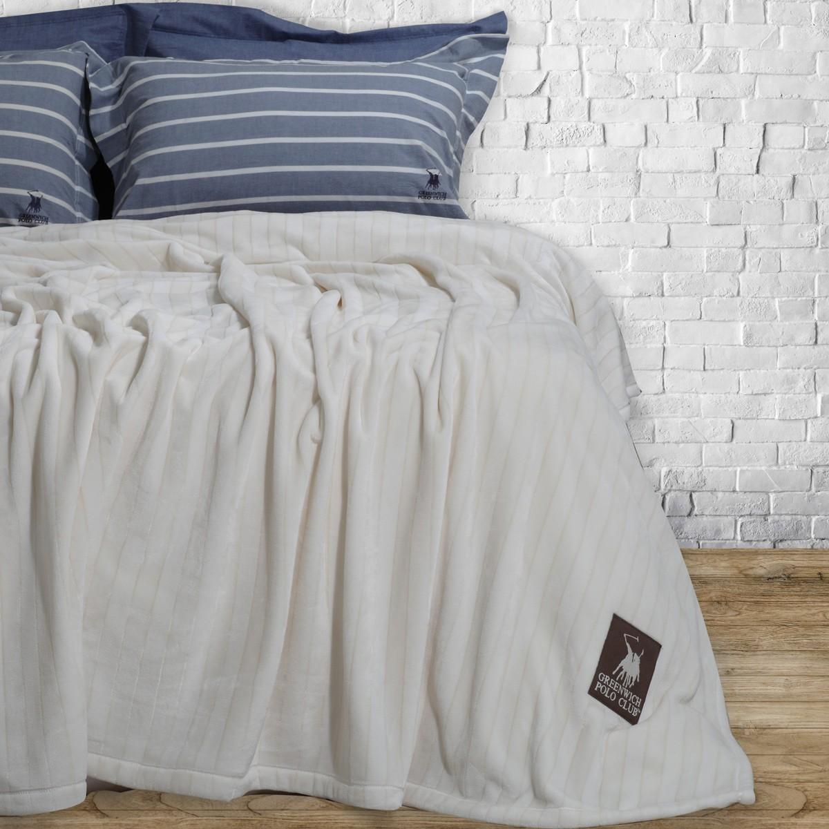 Κουβέρτα Fleece Υπέρδιπλη Polo Club Essential Blanket 2409