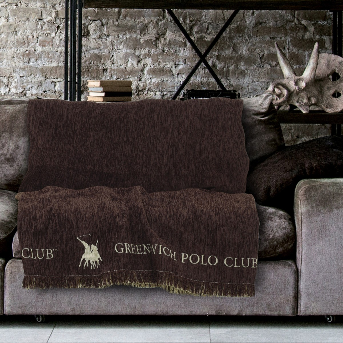 Ριχτάρι Τριθέσιου (180×300) Polo Club Premium 2712