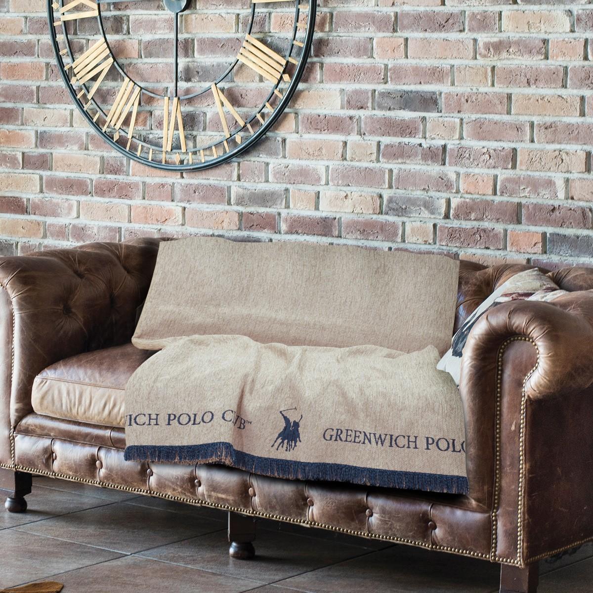 Ριχτάρι Τετραθέσιου (180×350) Polo Club Premium 2713