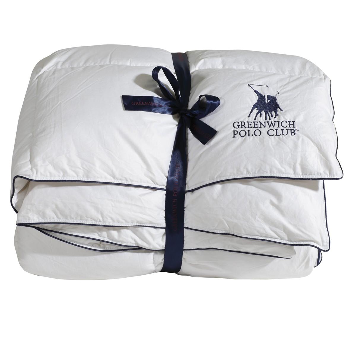 Πάπλωμα Πουπουλένιο Υπέρδιπλο Polo Club Premium Duvet 2301