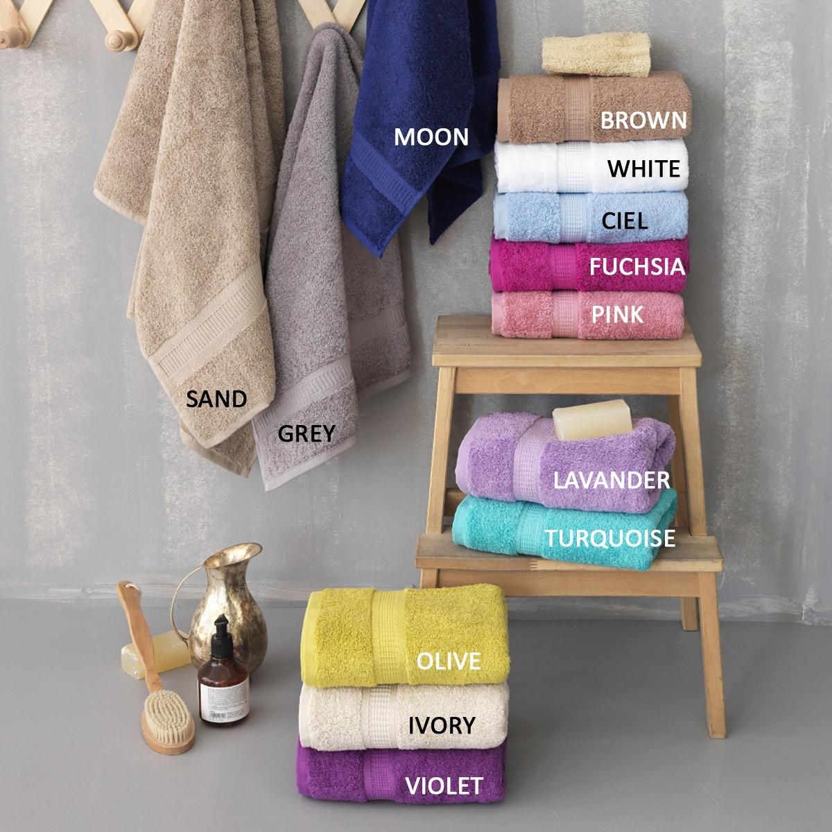 Πετσέτες Μπάνιου (Σετ 3τμχ) Palamaiki Jolie