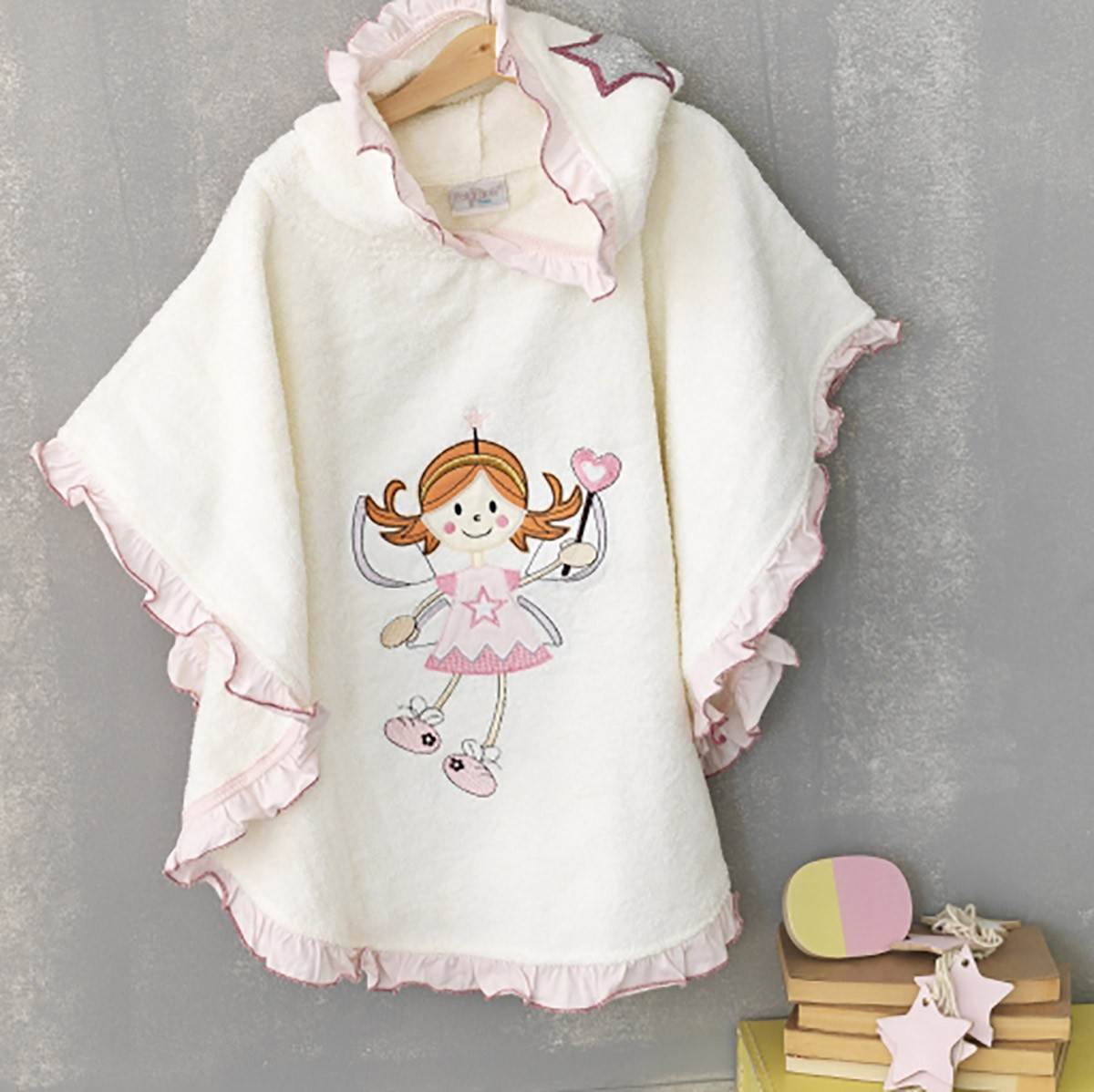 bb58b7d25bc Παιδικό Πόντσο Palamaiki Fairy