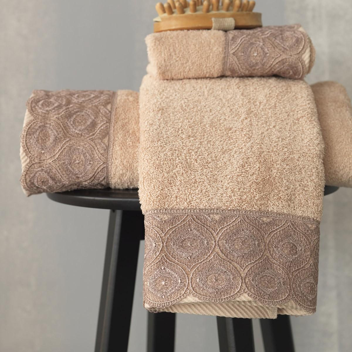 Πετσέτες Μπάνιου (Σετ 3τμχ) Palamaiki Towels Paya