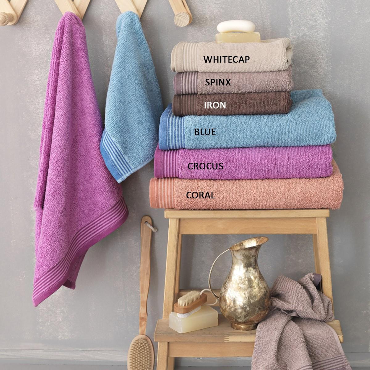 Πετσέτα Προσώπου (50x100) Palamaiki Louna home   μπάνιο   πετσέτες μπάνιου