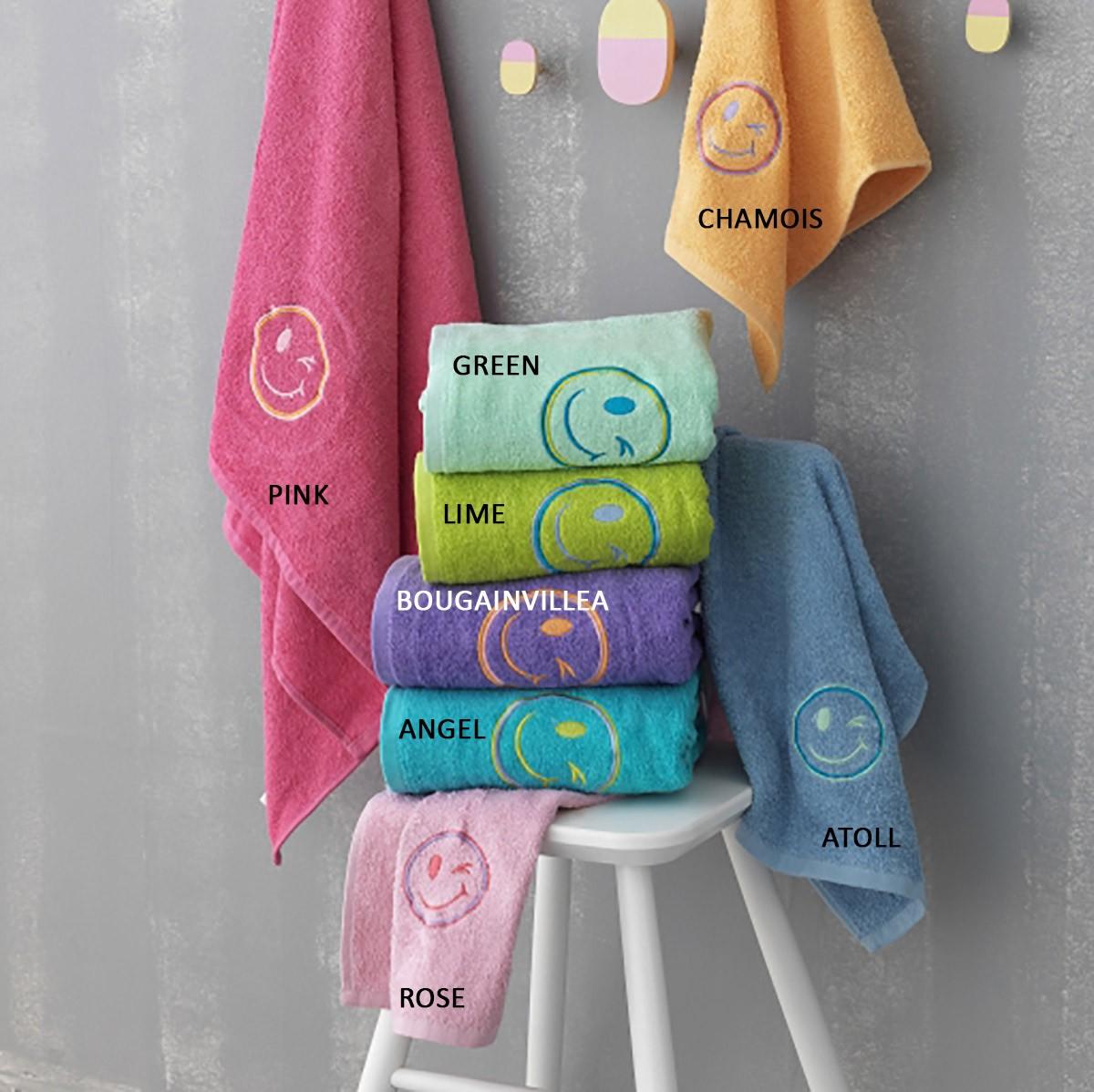 Παιδικές Πετσέτες (Σετ 2τμχ) Palamaiki Faces