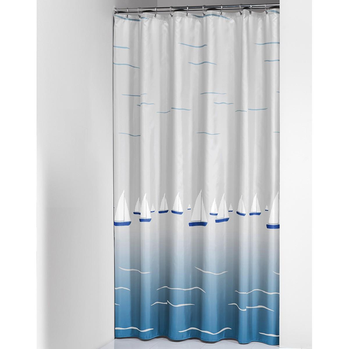Κουρτίνα Μπάνιου Πλαστική (180×200) SealSkin Barca