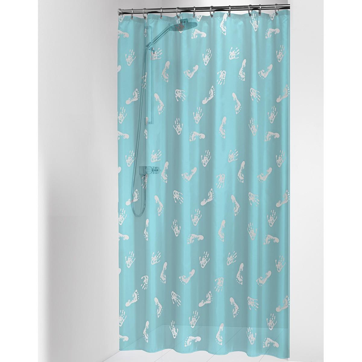 Κουρτίνα Μπάνιου Πλαστική (180×200) SealSkin Amy Turquoise