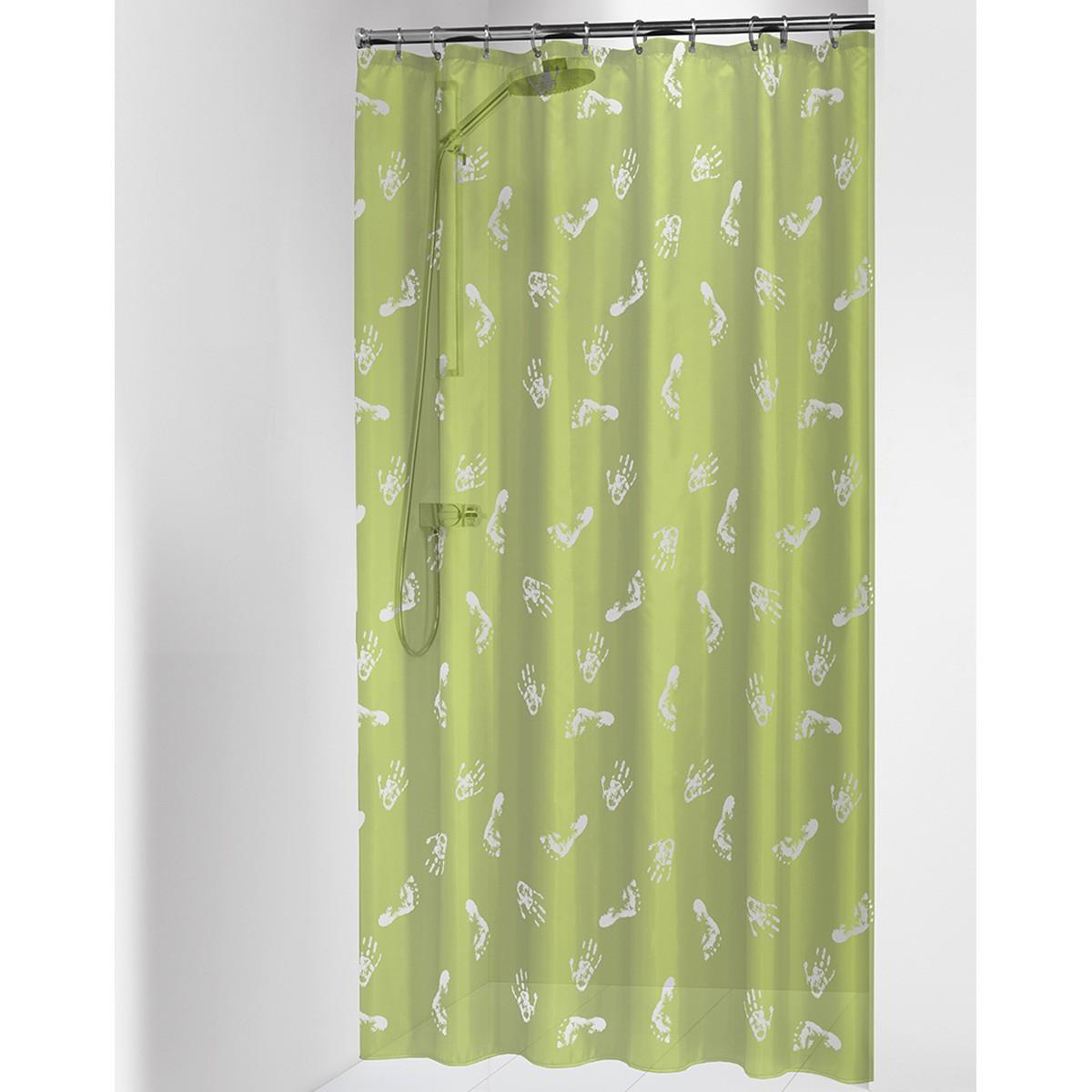 Κουρτίνα Μπάνιου Πλαστική (180x200) SealSkin Amy Lime