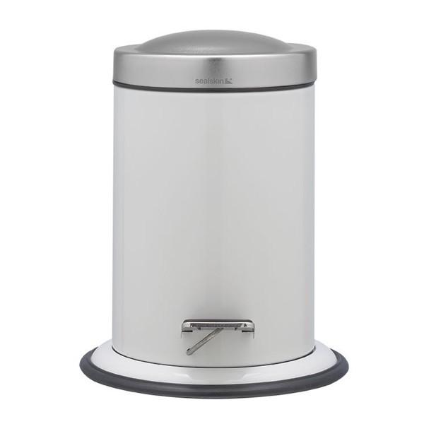 Κάδος Απορριμμάτων SealSkin 3Lit Acero White