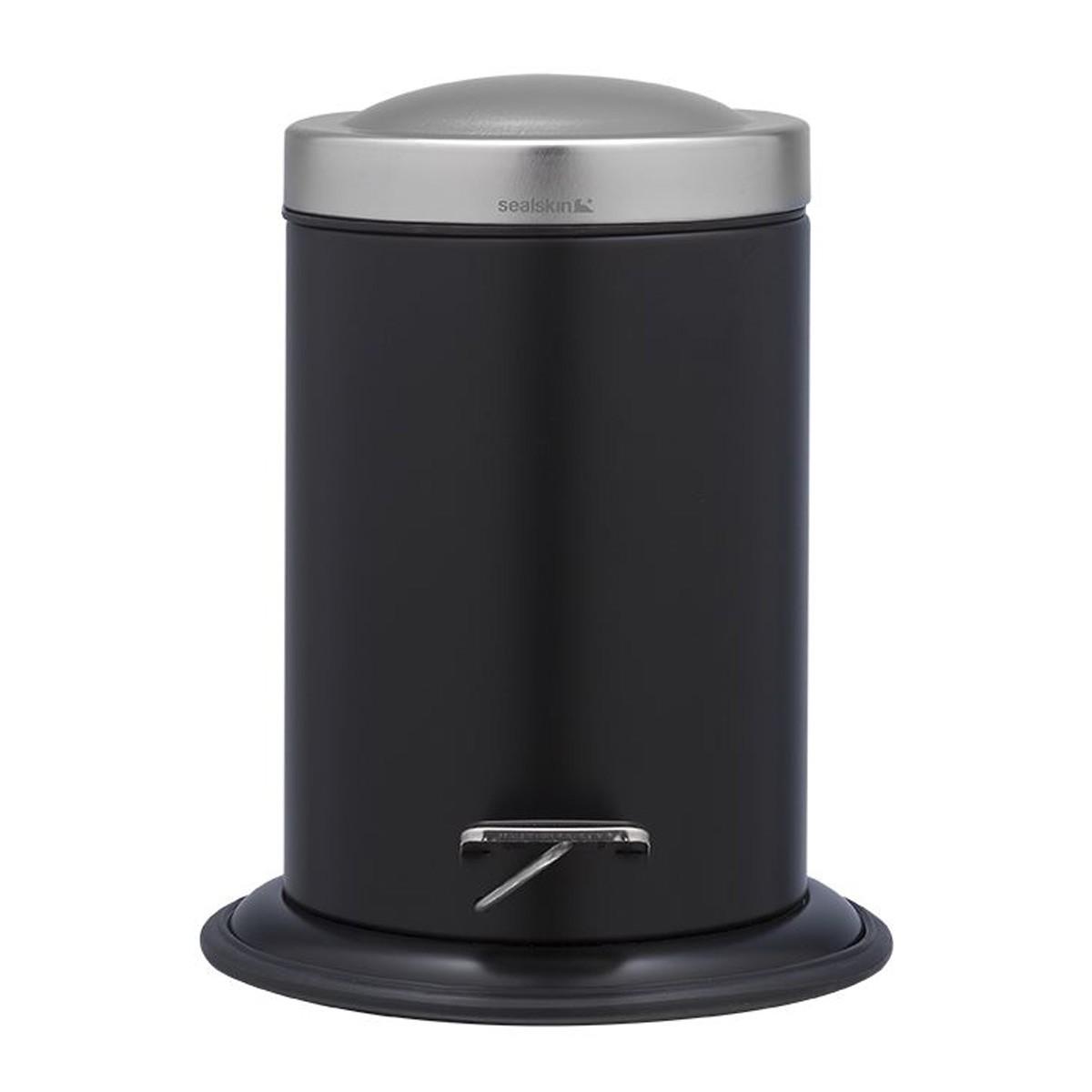 Κάδος Απορριμάτων SealSkin 3Lit Acero Black home   μπάνιο   κάδοι απορριμμάτων