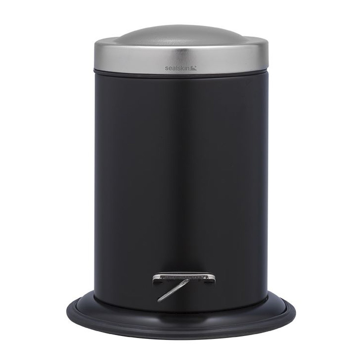 Κάδος Απορριμάτων SealSkin Acero Black