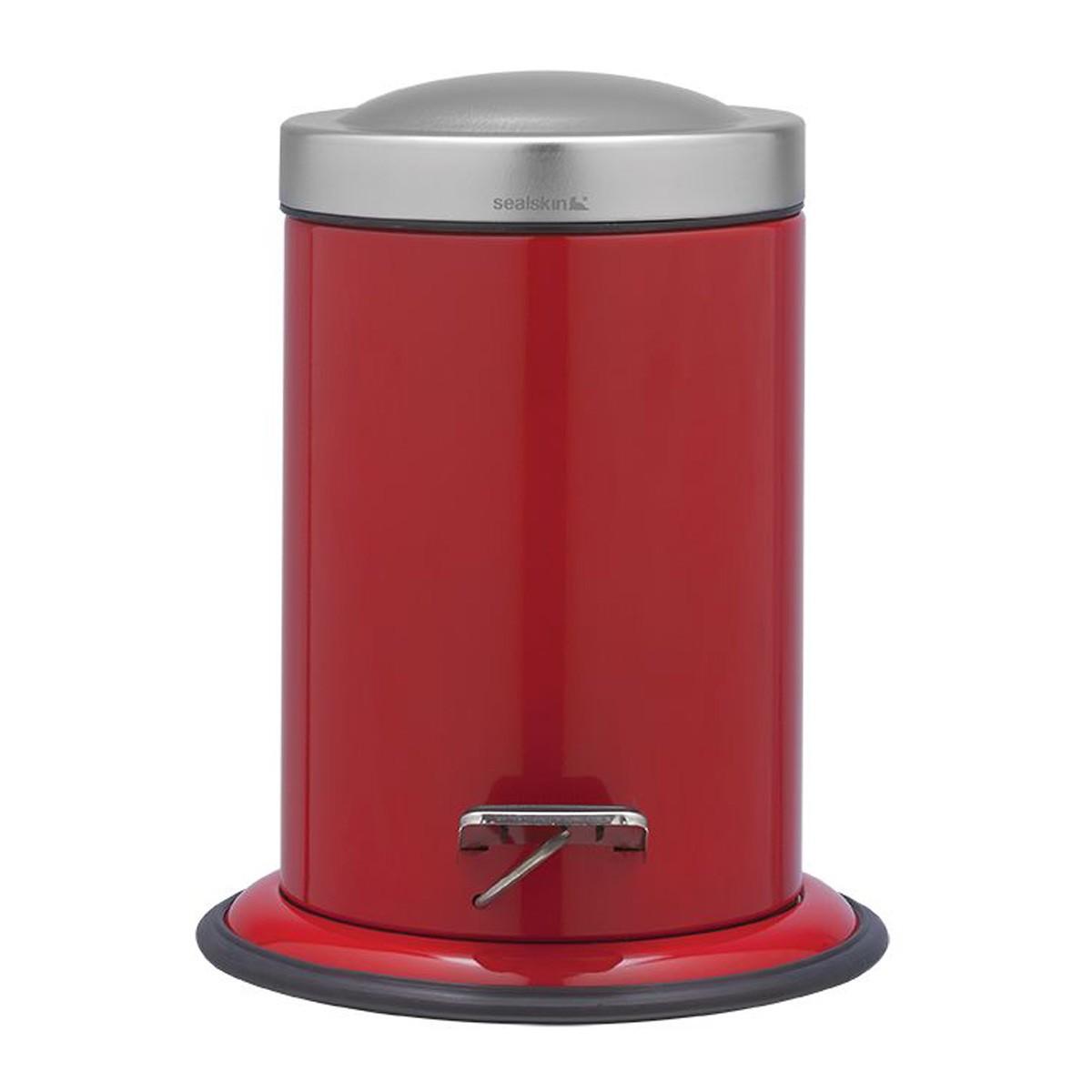 Κάδος Απορριμάτων SealSkin 3Lit Acero Red